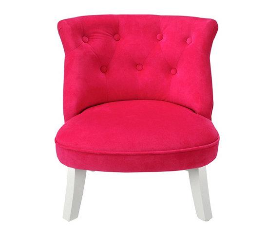 fauteuil crapaud rose fushia