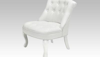 fauteuil crapaud design blanc