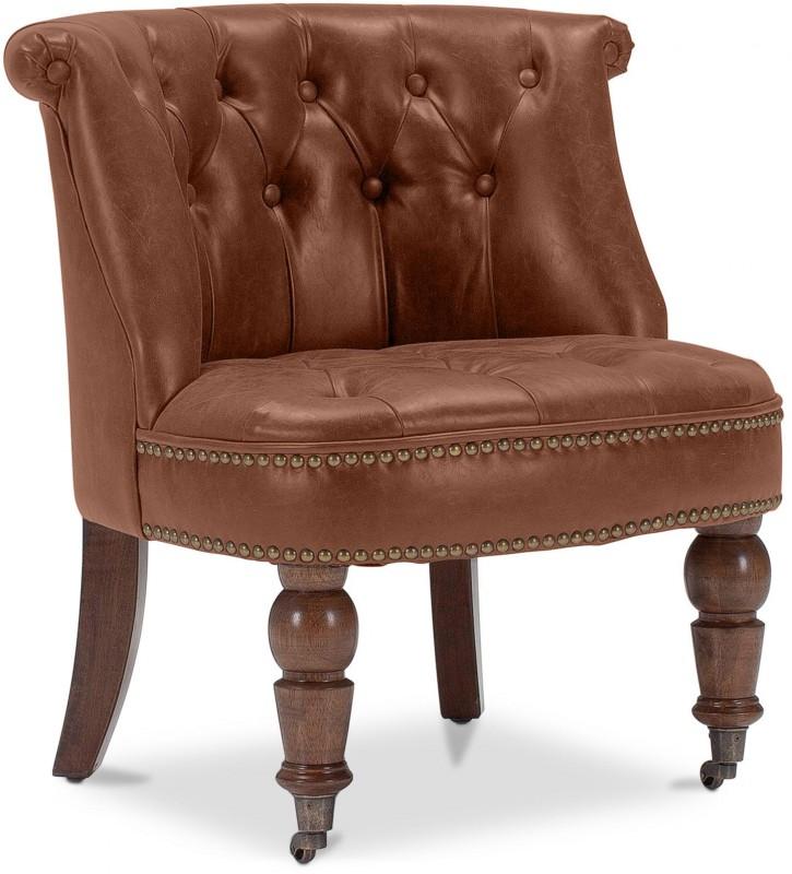 fauteuil crapaud marron ancien